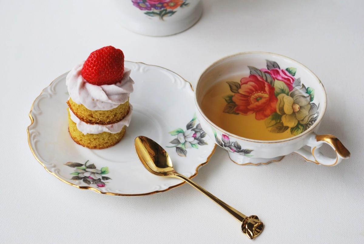 ... Victorian Sponge Tea Cakes ~ gluten Free, Grain Free, Dairy Free