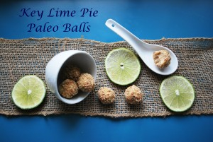 key lime pie paleo balls