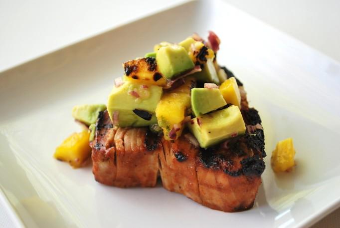 Grilled caribbean tuna with mango avacado salsa (15).JPG edit