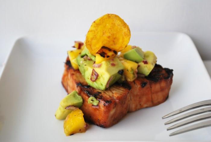 Grilled caribbean tuna with mango avacado salsa (8).JPG edit